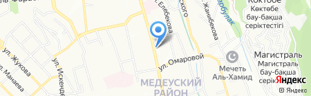 Индекс-А на карте Алматы