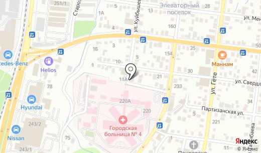 Кадам. Схема проезда в Алматы