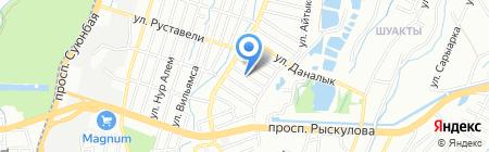 НиТЛ-А на карте Алматы