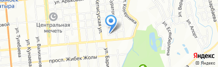 Даниал на карте Алматы