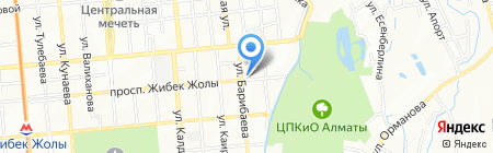 Sancak на карте Алматы