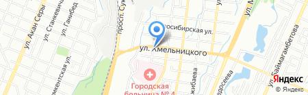 Роза продуктовый магазин на карте Алматы