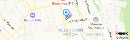 EuroFlowers на карте Алматы