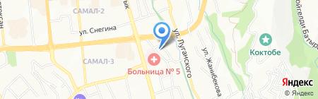 Proxima на карте Алматы
