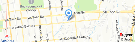Queen Life на карте Алматы
