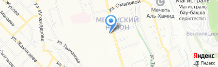 Академия Пограничной Службы КНБ Республики Казахстан на карте Алматы