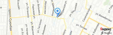 Галина на карте Алматы