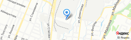Добровольное общество инвалидов Турксибского района на карте Алматы