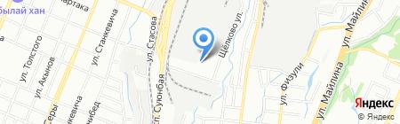 Ландшафт на карте Алматы