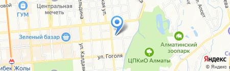 Департамент агентства по делам государственной службы и противодействию коррупции по г. Алматы на карте Алматы
