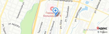 Участковый пункт полиции №78 Турксибского района на карте Алматы