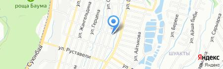 ИДОС на карте Алматы