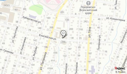 Southfork Ltd. Схема проезда в Алматы