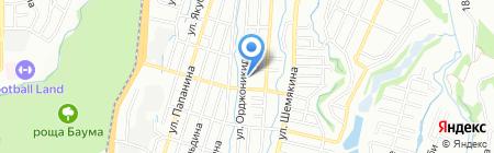 Ясли-сад №167 на карте Алматы