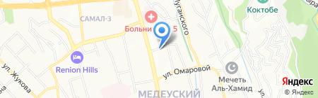 Берёзка на карте Алматы