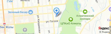 Туран-Сервис на карте Алматы
