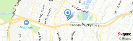 КазАвтоКрАЗ на карте Алматы