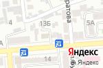Схема проезда до компании Юникс Мед в Алматы