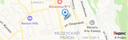 Алтел АО на карте Алматы