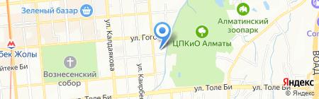 CAESAR на карте Алматы