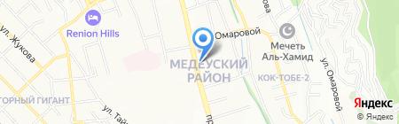 Veles на карте Алматы
