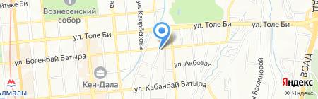 East Point на карте Алматы