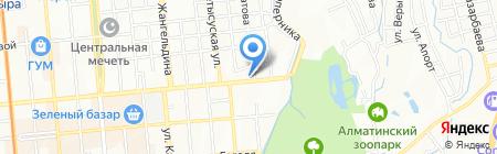 Национальный Олимпийский комитет Республики Казахстан на карте Алматы