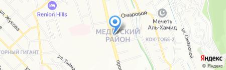 Участковый пункт полиции №64 Медеуского района на карте Алматы