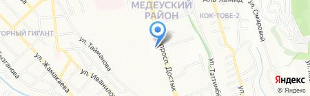 ПОГРАНИЧНИК на карте Алматы