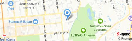 Клиника мануальной терапии доктора Ниязова М.Р. на карте Алматы