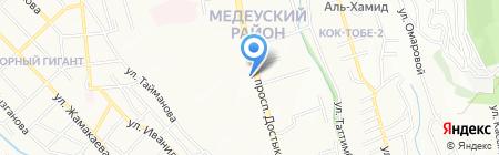 Шинхан Банк Казахстан на карте Алматы