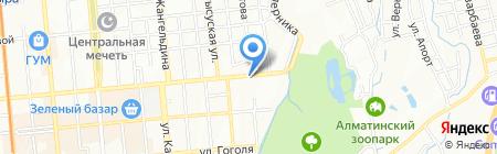 Отан-Секьюрити на карте Алматы