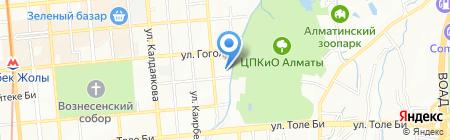 Leader Sport на карте Алматы