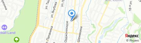 ROCKWOOD на карте Алматы