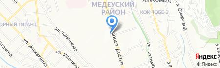 У Афанасича на карте Алматы