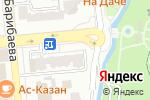 Схема проезда до компании Узбечка в Алматы