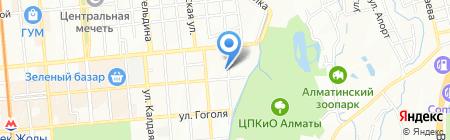 MFOTECHNODOM на карте Алматы