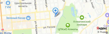 Биола на карте Алматы