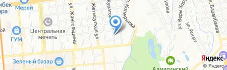 JET Airlines на карте Алматы