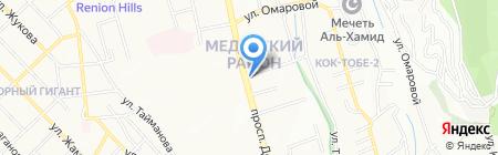 ZOLOTO на карте Алматы