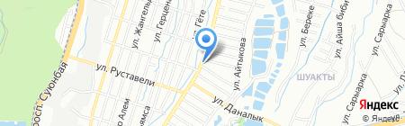 Автомастерская на карте Алматы