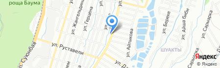 Елжан на карте Алматы