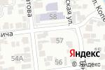Схема проезда до компании Ясли-сад №126 в Алматы