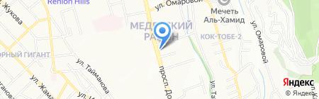 Дифирамб ТОО на карте Алматы