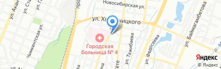 Эконом оптика на карте Алматы