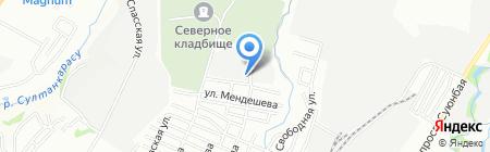 Охотзоопром на карте Алматы