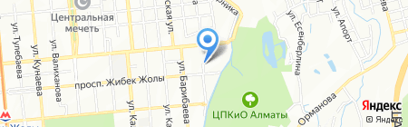 Secret Service на карте Алматы
