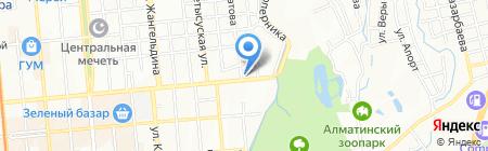 Беркут продуктовый магазин на карте Алматы