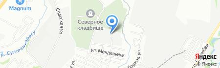 Даулет-Фарм на карте Алматы