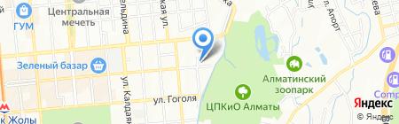 Департамент по защите прав потребителей г. Алматы на карте Алматы